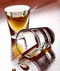 Dovesser cifrato da alcool in esso è Sakhalin del sud