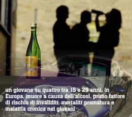 Lavoro con adolescenti su un problema di alcolismo